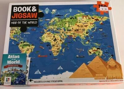 Book & 150 Jigsaw Piece