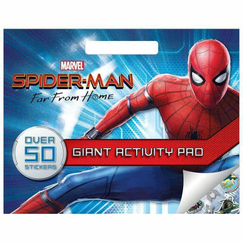 Giant Activity Pad - Spiderman