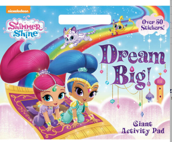 Giant Activity Pad - Shimmer & Shine