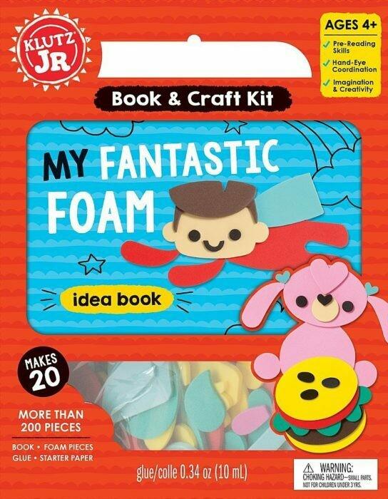 Klutz Fantastic Foam Craft Pack