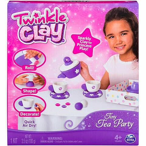 Twinkle Clay - Tiny Tea Party Air Dry Clay