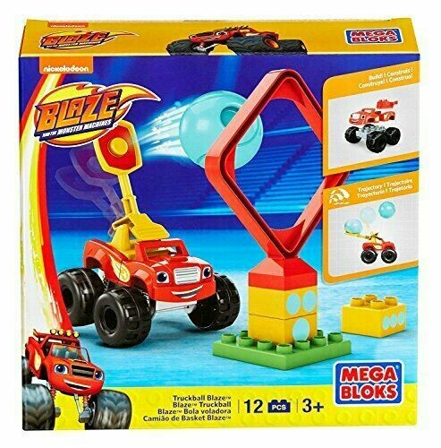 Mega Bloks Monster Machine Truckball Blaze Building Set