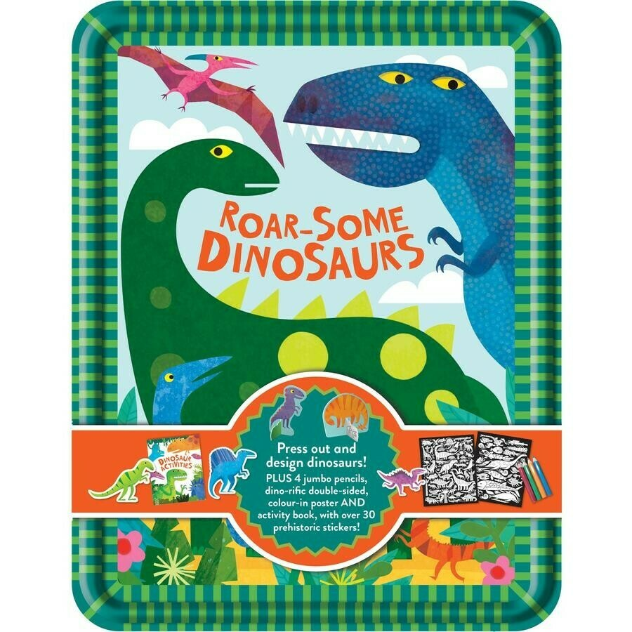 Happy Tin - Roar Some Dinosaurs