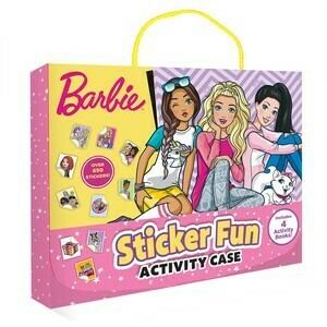 Barbie Sticker Fun Activity Case