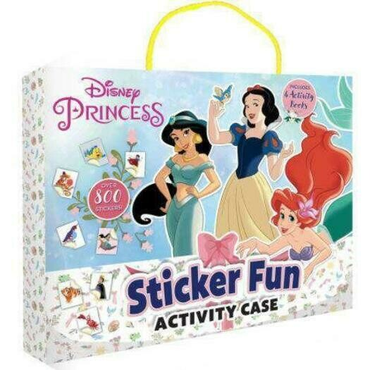 Disney Princess Sticker Fun Activity Case