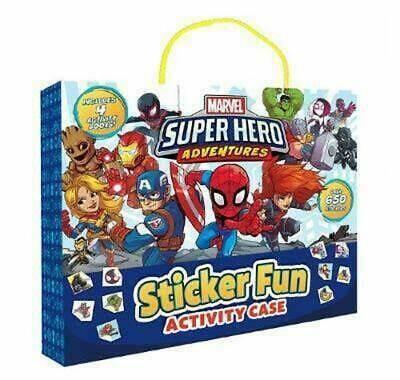 Marvel SuperHero Adventures Activity Case
