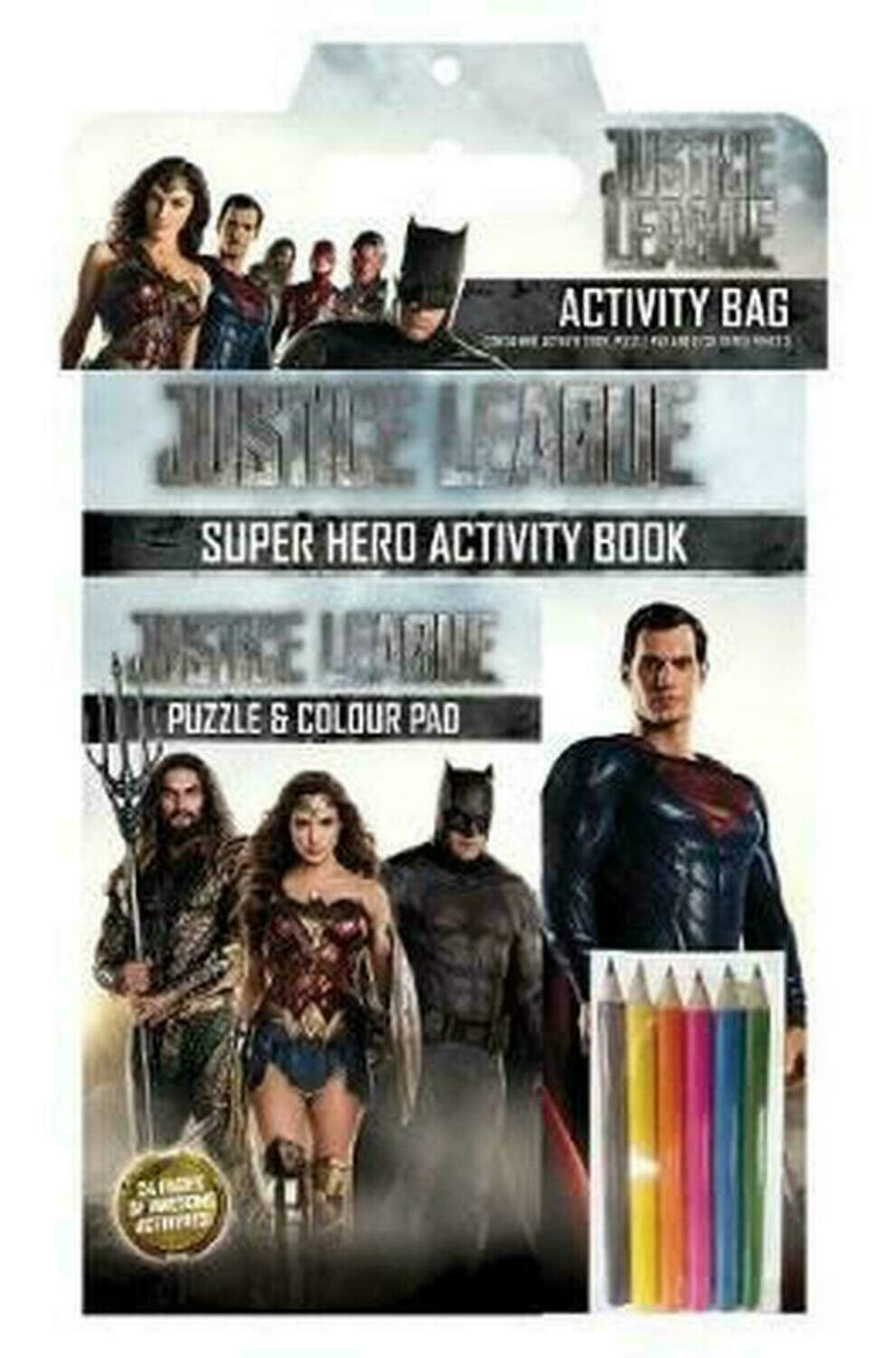 Justice League Activity Pack