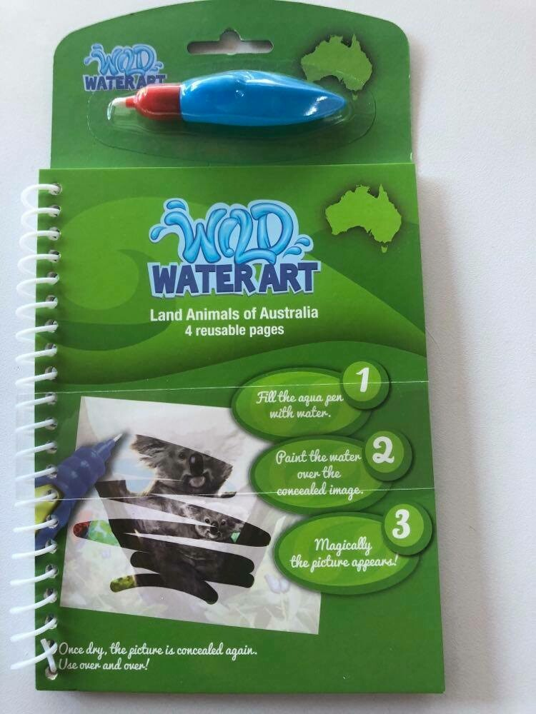 Water Art Set - Land Animals of Australia