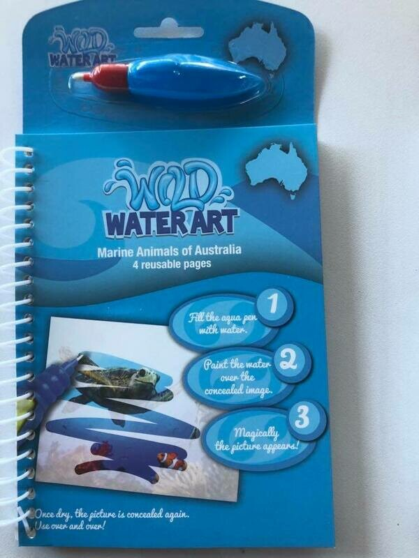 Water Art Set- Marine Animals of Australia