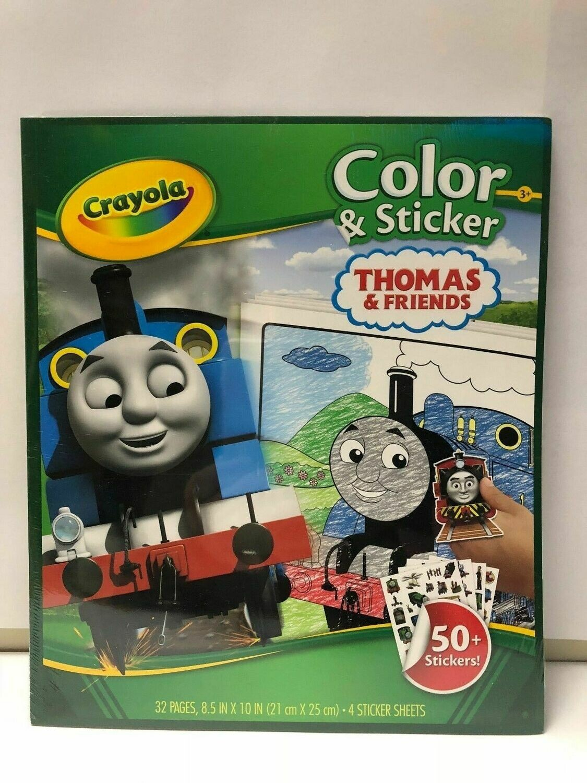 Crayola Thomas & Friends Colour & Sticker Pack