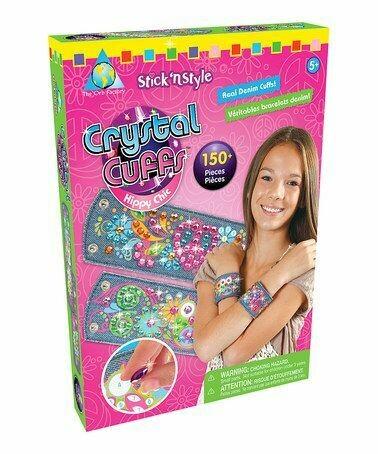 Stick 'n Style Crystal Cuffs - Hippy Chic