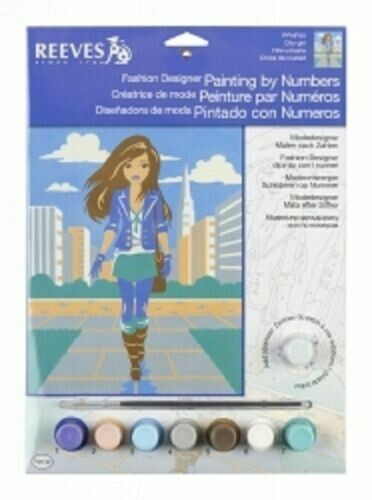 Reeves Painting by Numbers - City Girl