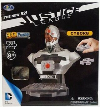 Justice League 72 Piece 3D Puzzle - Cyborg