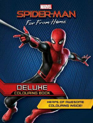 Spider-Man Far from Home Deluxe Colouring Book