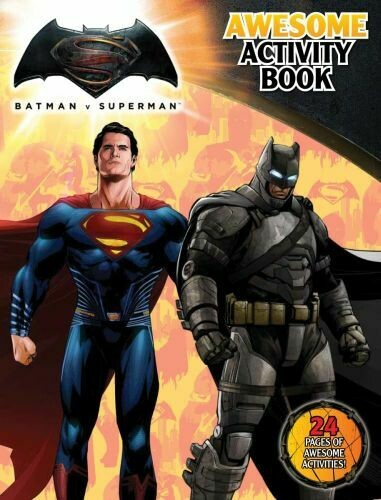 Batman vs Superman Awesome Activity Book