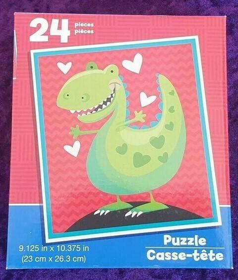 24 Piece Kids Puzzle - Dinosaur