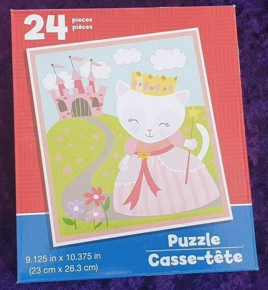 24 Piece Kids Puzzle - Kitty