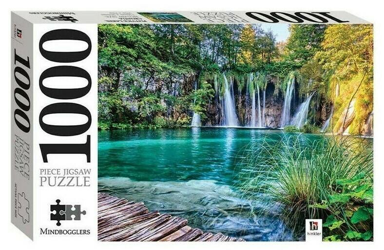 JIGSAW PUZZLE - CROTIA - MINDBOG.1000 PCS- Jigsaw Size: 690mm x 546mm