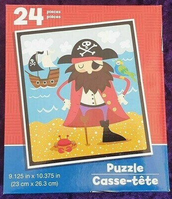 24 Piece Kids Puzzle - Pirate