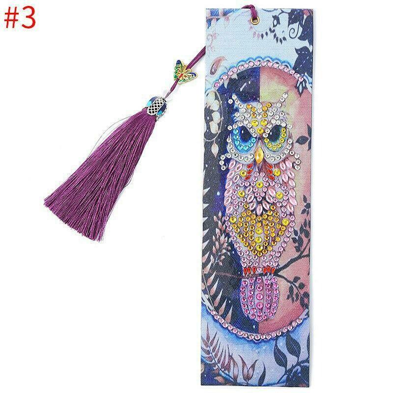 Diamond Painting Bookmark - OWL
