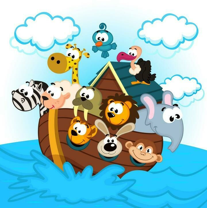 Noah's Ark - 30 x 30cm Full Drill (Round) Diamond Painting Kit - Currently in stock