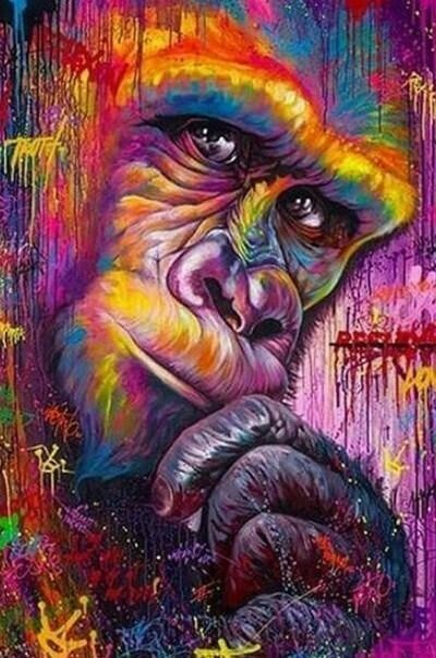 Paint by Number - Gorilla