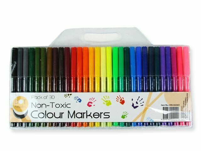 Non-Toxic Colouring Markers