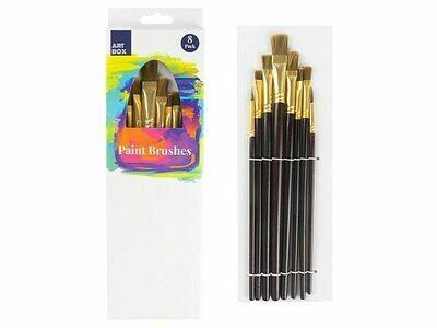 Paint Brush 8 Pack