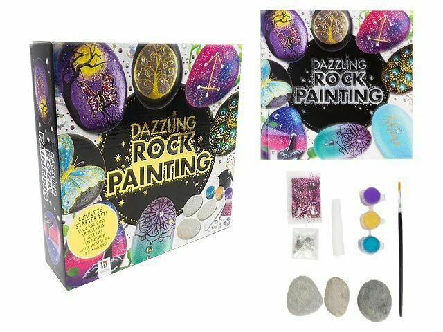 Dazzling Rock Painting Set
