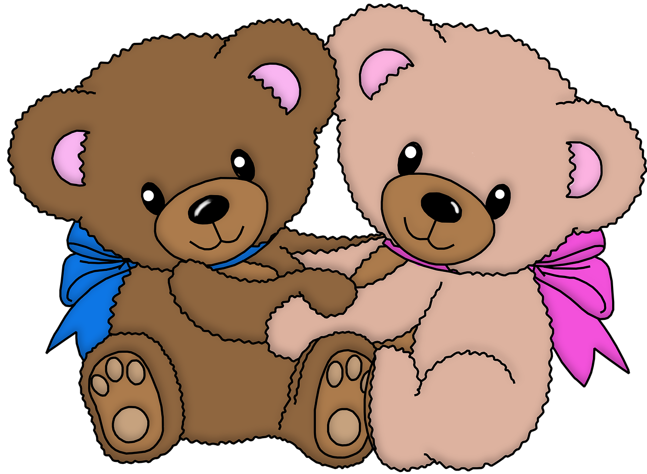 Teddy Bears 20 x 25cm Full Drill (Round) Diamond Painting Kit - Currently in stock