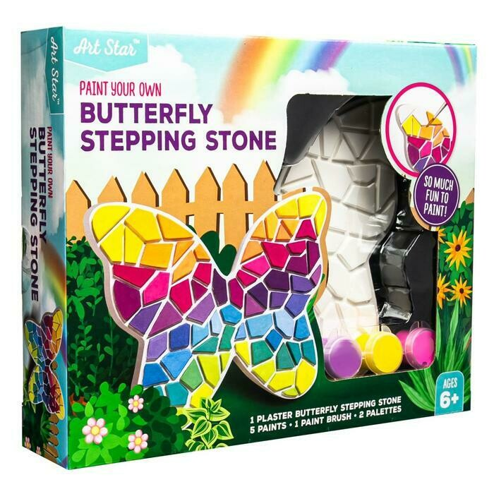 Art Star Decorate Your Own Stepping Stone Butterfly