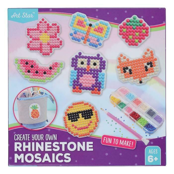 Art Star Rhinestone Mosaic Design Kit