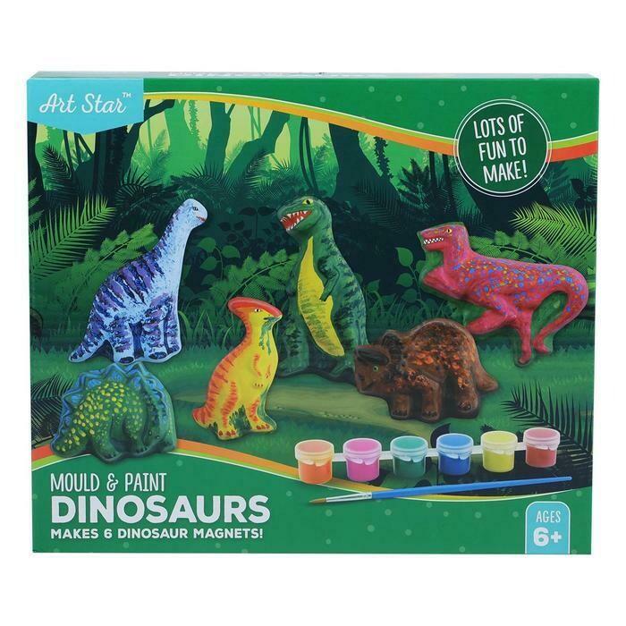 Art Star Mould & Paint Dinosaur Activity Kit