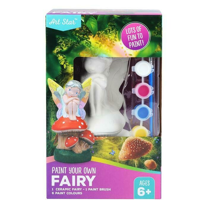 Art Star Paint Your Own Ceramic Fairy