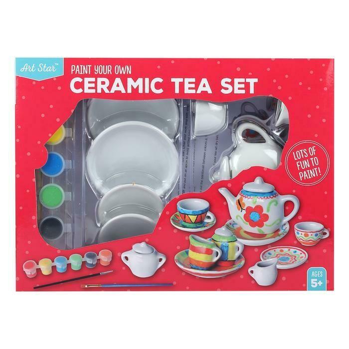Art Star Paint Your Own Ceramic Tea Set