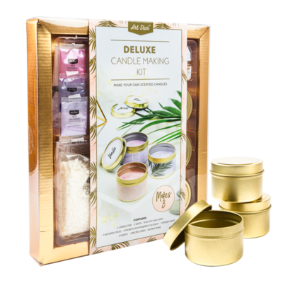 Art Star Deluxe Candle Making Kit Makes 3 Candles
