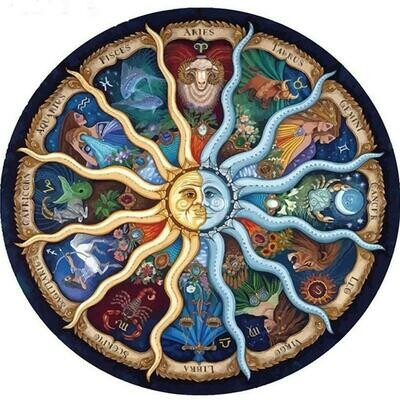Zodiac  - Full Drill Diamond Painting - Specially ordered for you. Delivery is approximately 4 - 6 weeks.
