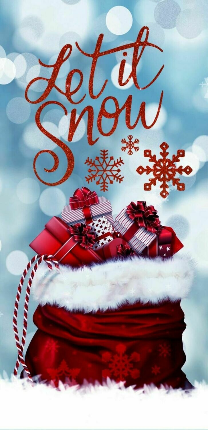 Let It Snow - Full Drill Diamond Painting - Specially ordered for you. Delivery is approximately 4 - 6 weeks.