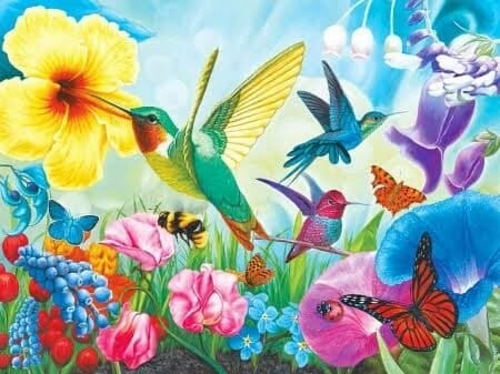 The Birds Butterflys and Bees - Full Drill Diamond Painting - Specially ordered for you. Delivery is approximately 4 - 6 weeks.