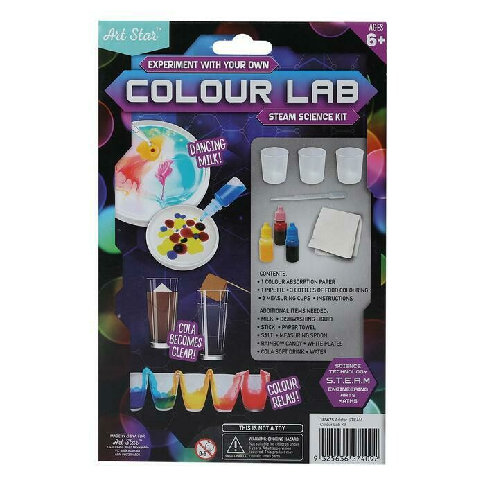 Art Star Colour Lab - S.T.E.A.M KIT