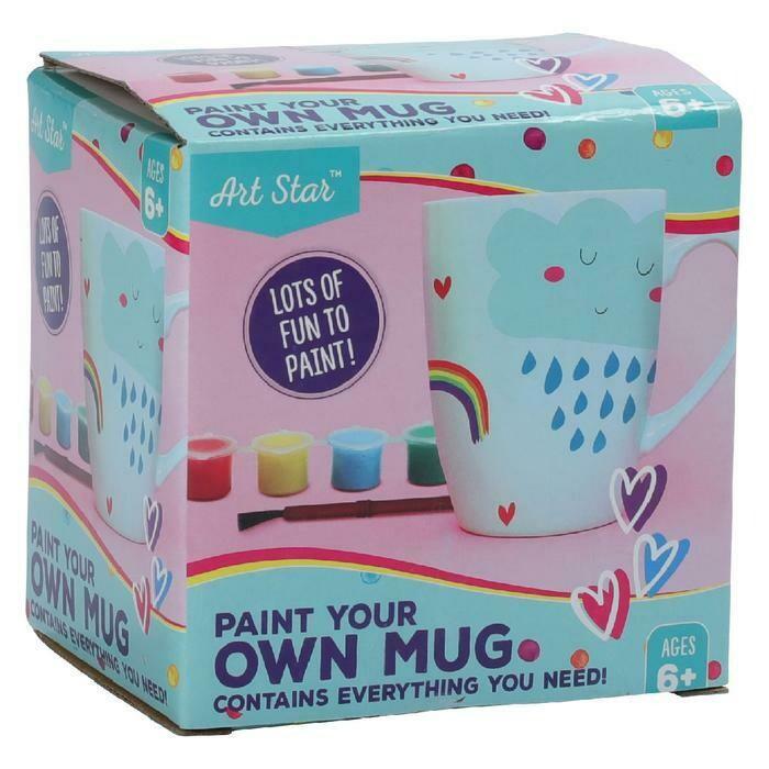 Art Star Paint Your Own Mug
