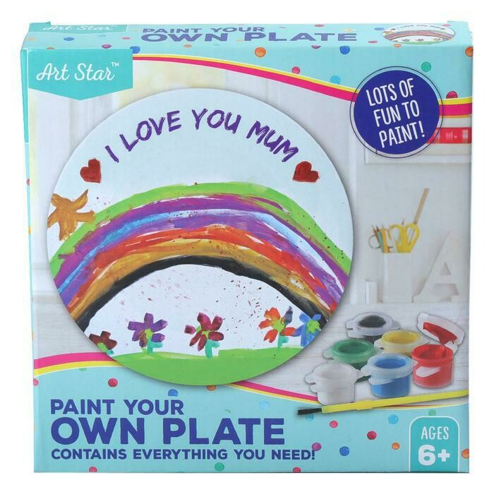 Art Star Paint Your Own Plate