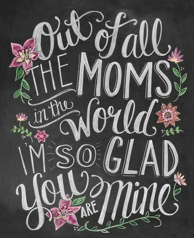 All the Mums in the World - 50 x 70cm - Full Drill (Square), Diamond Painting Kit - Currently in stock