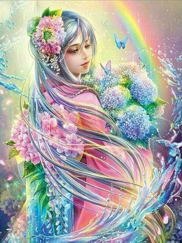 Fairy Pastel - 40 x 50cm Full Drill (Round), Diamond Painting Kit - Currently in stock