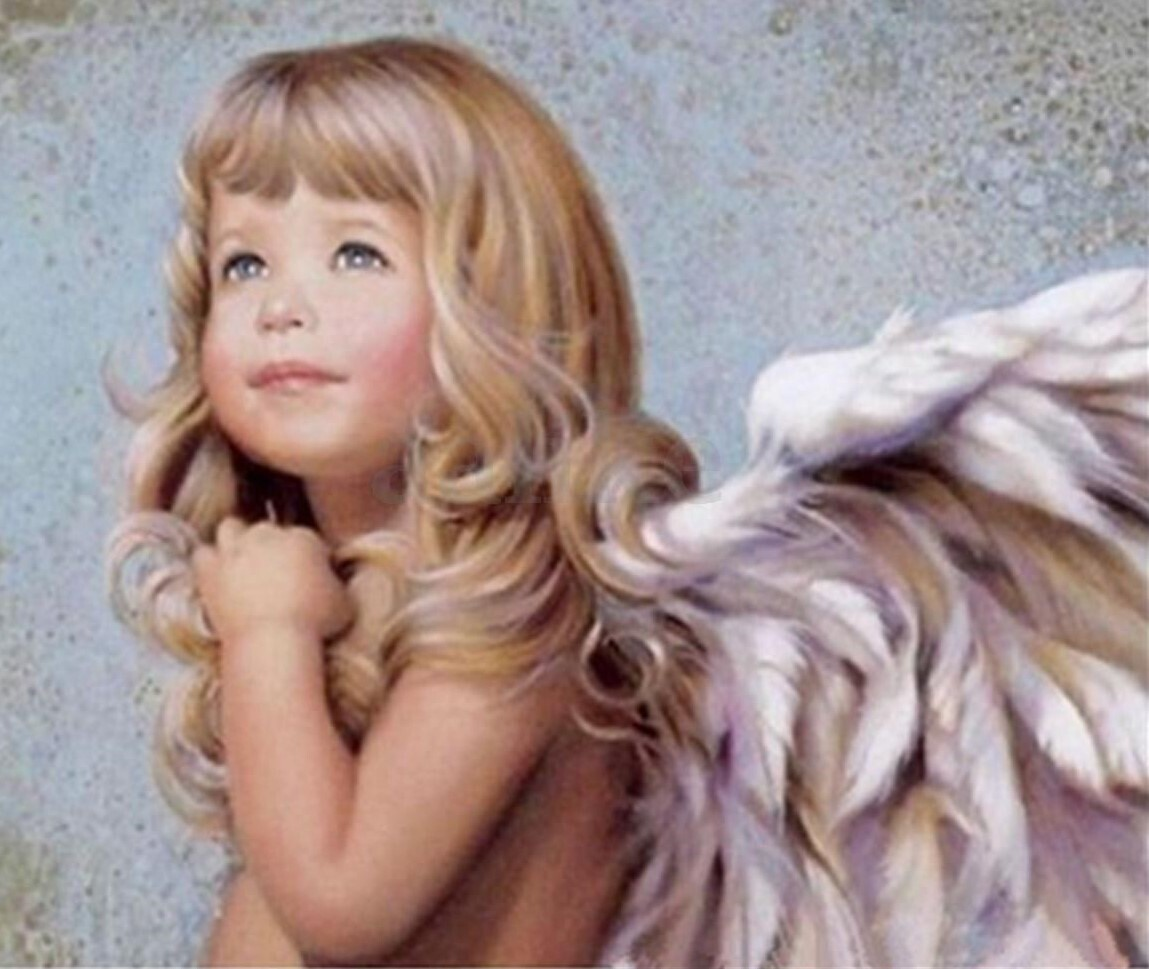 Angel Girl - 30 x 40cm Full Drill (Round) Diamond Painting Kit - Currently in stock