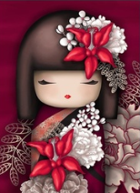 China Doll - 30 x 40cm Full Drill (Round) Diamond Painting Kit - Currently in stock