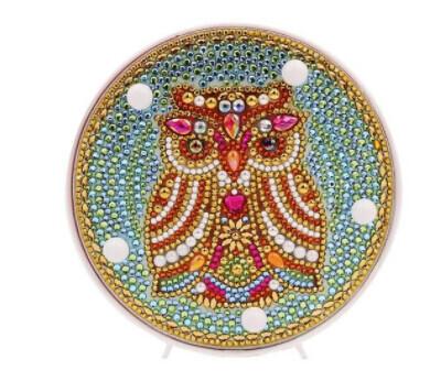 DIY Diamond Painting Nite Lite - Owl