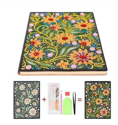 Diamond Painting Note Book  - Sunflowers HM003