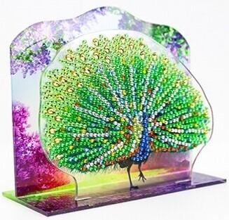 3D Acrylic Stand DIY Kit- Peacock