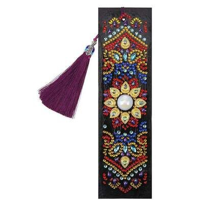 Diamond Painting Bookmark - Mandala Flower